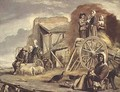 The Haycart or Return from Haymaking - Louis Le Nain