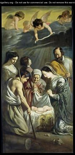 The Adoration of the Shepherds 2 - Mathieu Le Nain