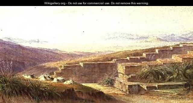 Argos from Mycenae - Edward Lear