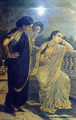 Ladies in the Moonlight - Raja Ravi Varma
