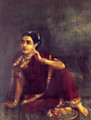 Radha Waiting for Krishna - Raja Ravi Varma