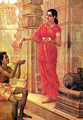 Lady Giving Alms - Raja Ravi Varma