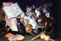 A Musical Gathering of Cats - Ferdinand van Kessel