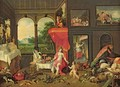 Allegory of Taste - (attr. to) Kessel, Jan van