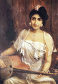 Lady Playing the Veena - Raja Ravi Varma