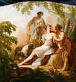 Diana Resting after the Hunt - Johann-Heinrich Keller