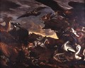 The Battle of the Birds and the Beasts - Jacob van der (Giacomo da Castello) Kerckhoven