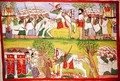 Burning of Churches by Muslims and the Death of Cristobal de Gama and the Fall and Death of Ahmed ibn Ibrahim al Ghazi 1506-43 Shot by a Portuguese Musketeer - Jemlieri Hailu of Gondar Kegneketa