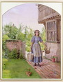 The Young Milkmaid - George Goodwin Kilburne