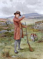 Loading the Gun - George Goodwin Kilburne
