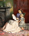 Mother and Daughter - George Goodwin Kilburne