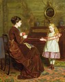 Mothers Little Helper - George Goodwin Kilburne