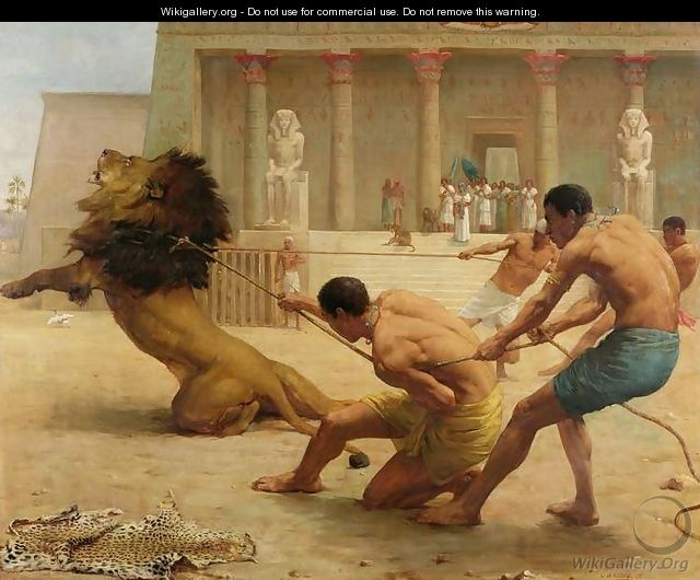 Ancient Sport - George Goodwin Kilburne