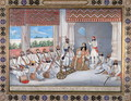 Muhammad Abd al Rahman in his court - Gulam Ali Khan