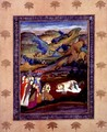 The death of Farhad on Mount Behistan - Mir Kalan Khan