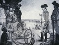 Shah Allum Mogul of Hindostan reviewing the East India Companys Troops - (after) Kettle, Tilly