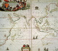 Map of Africa India Indian Ocean and East Indies - Johannes van Keulen