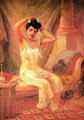 Lady in Her Dressing Room - Raja Ravi Varma