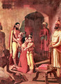Sri Krishna Liberating His Parents - Raja Ravi Varma