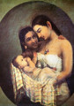 Mother and Child - Raja Ravi Varma