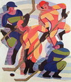 Hockey Players 2 - Ernst Ludwig Kirchner