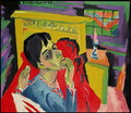 Self Portrait as an Invalid - Ernst Ludwig Kirchner