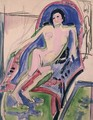 Reclining Nude - Ernst Ludwig Kirchner