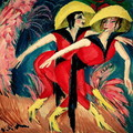 Dancers in Red - Ernst Ludwig Kirchner