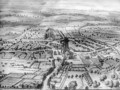 Cirencester Park from The Ancient and Present State of Gloucestershire - Johannes Kip