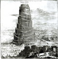 The Tower of Babel - Athanasius Kircher