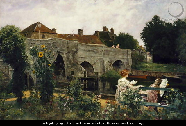 The Garden by the River - Henry John Yeend King