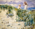 On the Dunes - Henry John Yeend King