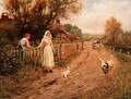 By the Garden Gate - Henry John Yeend King