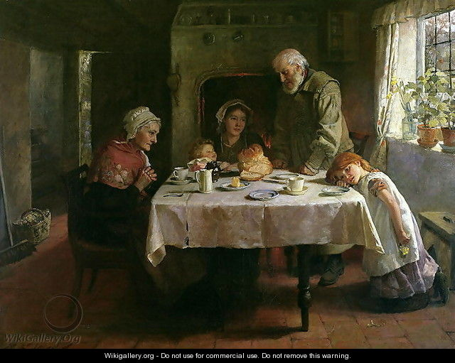 Grace Before Supper - Mary Evelina Kindon