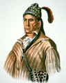 Menawa chief of the Creek people - (after) King, Charles Bird