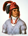 Ledagie a chief of the Creek people - (after) King, Charles Bird
