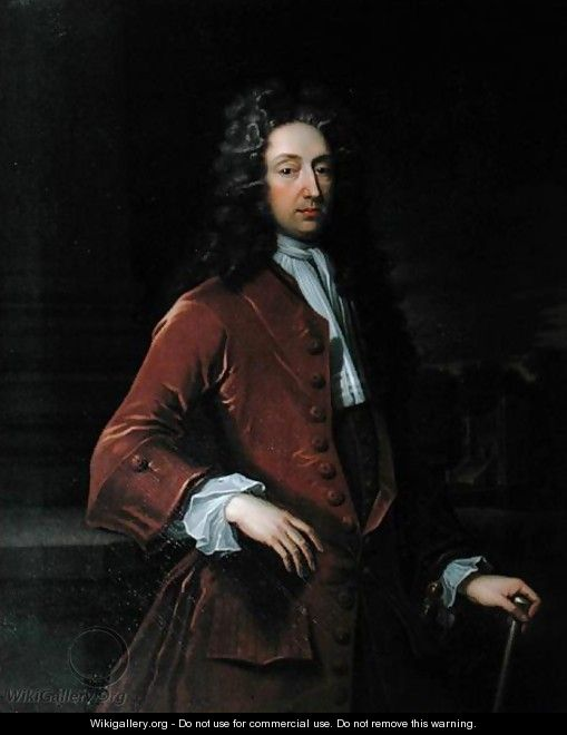 Portrait of Lord Digby 1661-1752 - Sir Godfrey Kneller