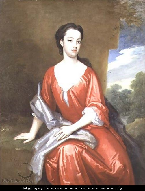 Portrait of Mrs Portman - Sir Godfrey Kneller