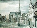 In front of the Church in Veghel - Valentin Klotz