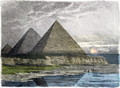 The Pyramids of Giza - Ferdinand Knab