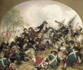 The Old Dessauer in the Battle of Turin - Hermann Joseph Wilhelm Knackfuss