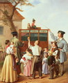 The travelling organ grinder - Edouard Klieber