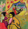 Japanese Theatre - Ernst Ludwig Kirchner