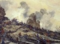 Don Cossacks Capturing the Fortress of Azov - Nikolai Mikhailovich Kochergin