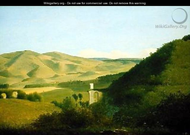 A Valley in the Countryside - Joseph Augustus Knip