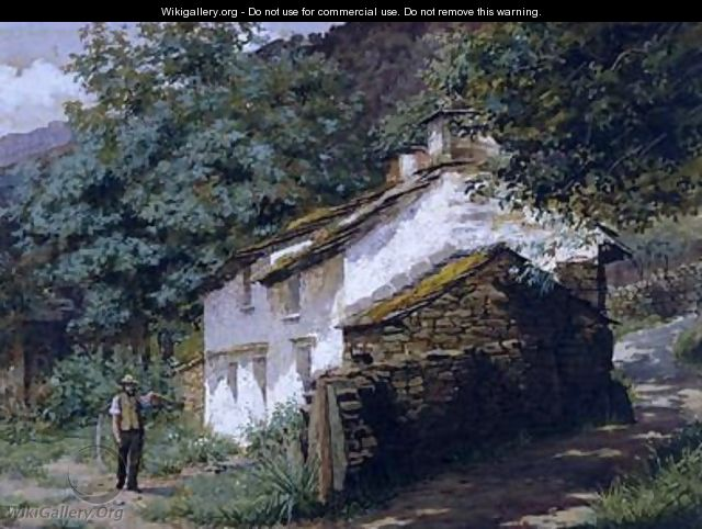 Easedale Cottage - Georges Sheridan Knowles