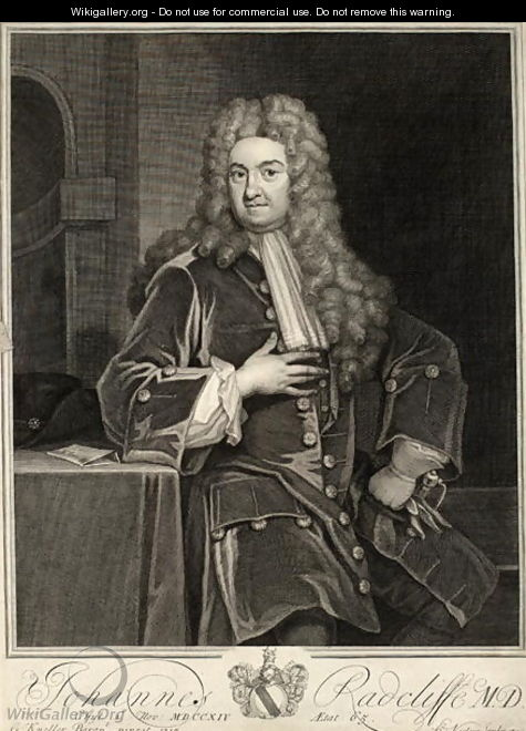 John Radcliffe 2 - (after) Kneller, Sir Godfrey