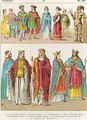 Frankish Dress - Albert Kretschmer