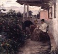 On the Verandah - Kiviak Konstantinov Kostandi
