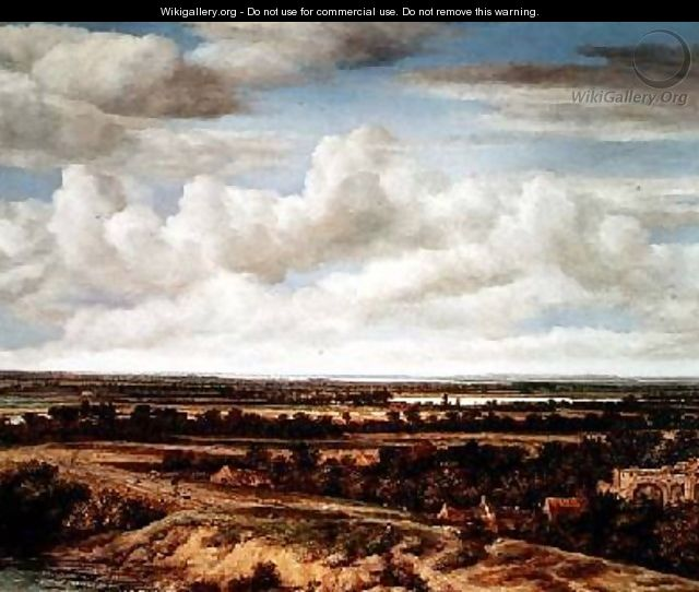 An Extensive Landscape with a Road by a River - Philips Koninck